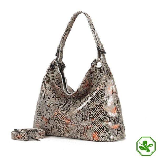 Snake Leather Bag 6
