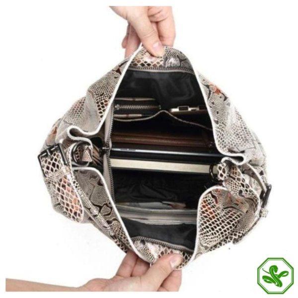Snake Leather Bag 3