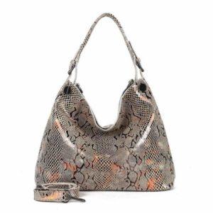 Snake Leather Bag 1