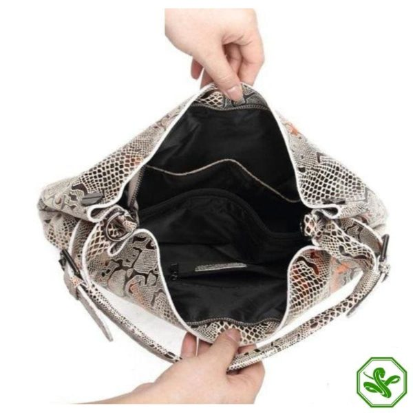 Snake Leather Bag 4
