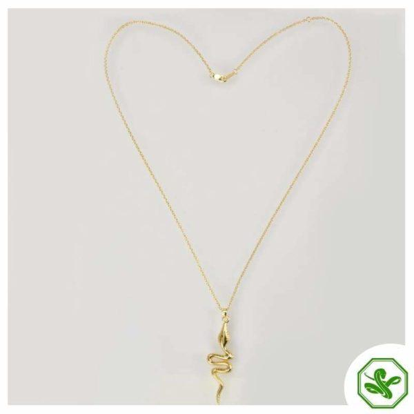 golden-plated-snake-pendant
