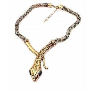 Snake Necklace Vintage 1