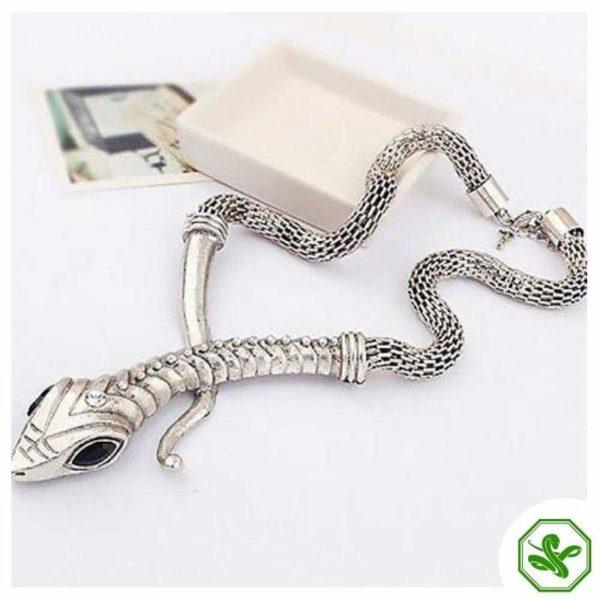Snake Necklace Vintage 4