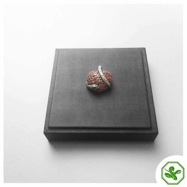 heart snake pendant