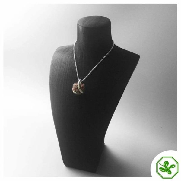 shiny snake pendant