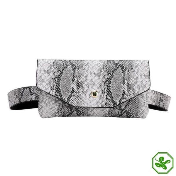 Snake Print Belt Bag 5