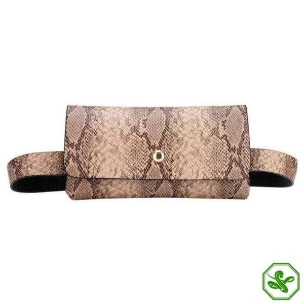 Snake Print Belt Bag 12