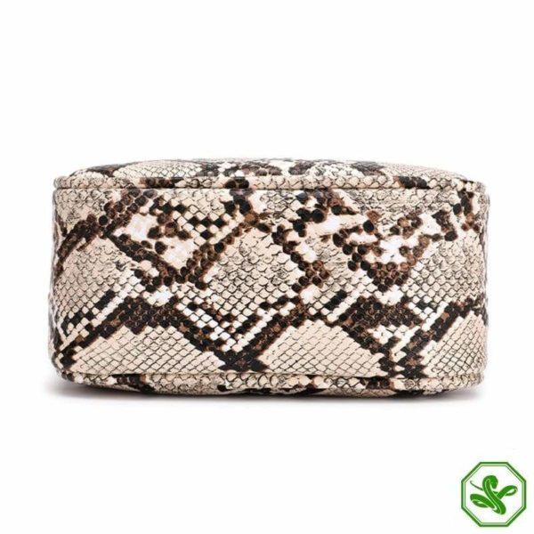 Snake Print Chain Bag 6