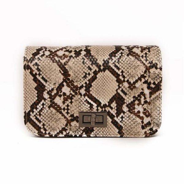 Snake Print Crossbody bag