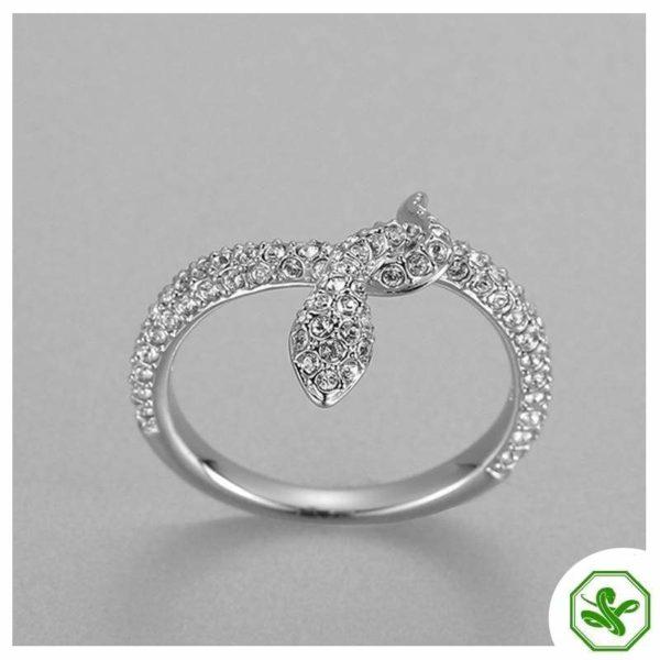 Snake Ring Diamond 4