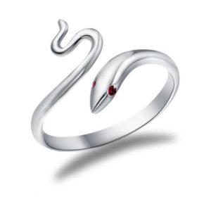 Snake Ring Red Eyes 1