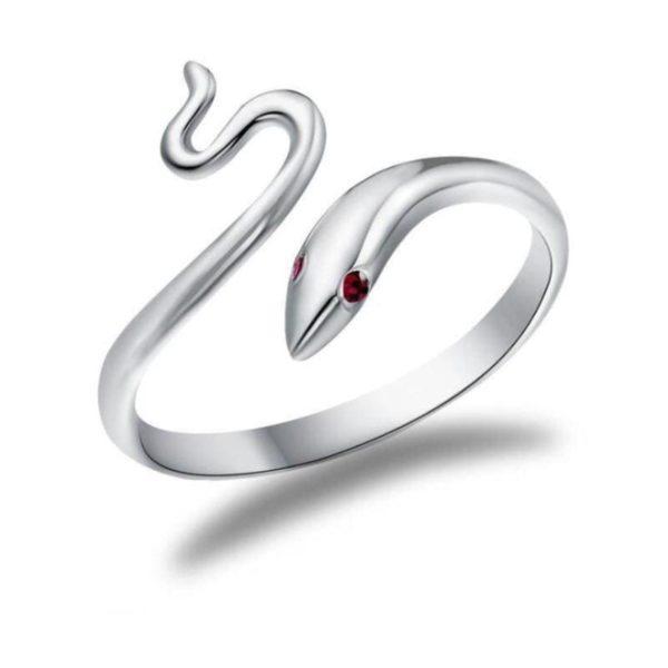 Snake Ring Red Eyes 4