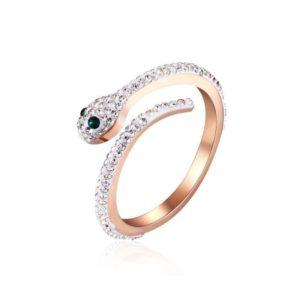 Snake Ring Rose Gold 1