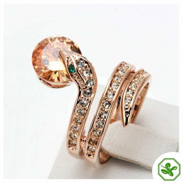 Snake Ring Ruby 5