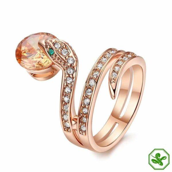Snake Ring Ruby 4