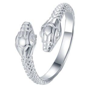 siamese snake ring
