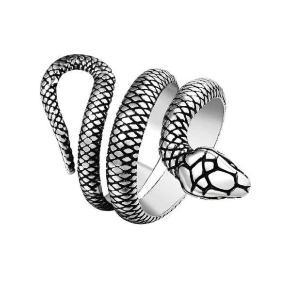 snake-ring-silver-mens 1