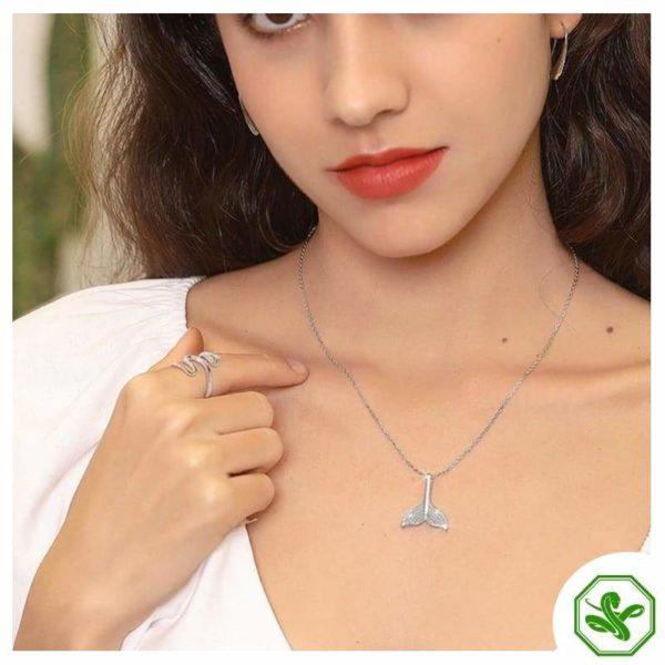 Women's Snake Ring Silver 4