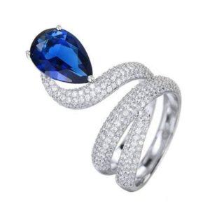 Women's Snake Ring 1