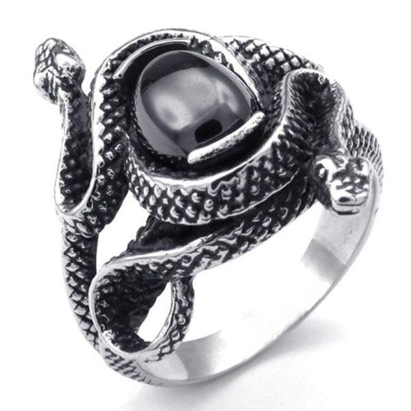 Snake Signet Ring 1