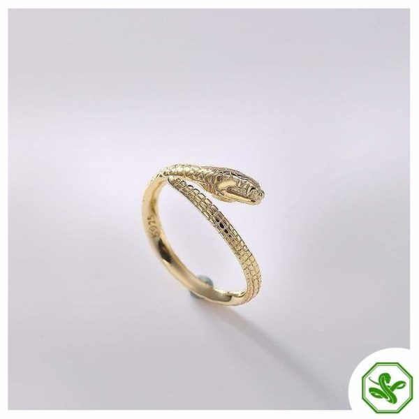 snake-silver-engagement-ring 4