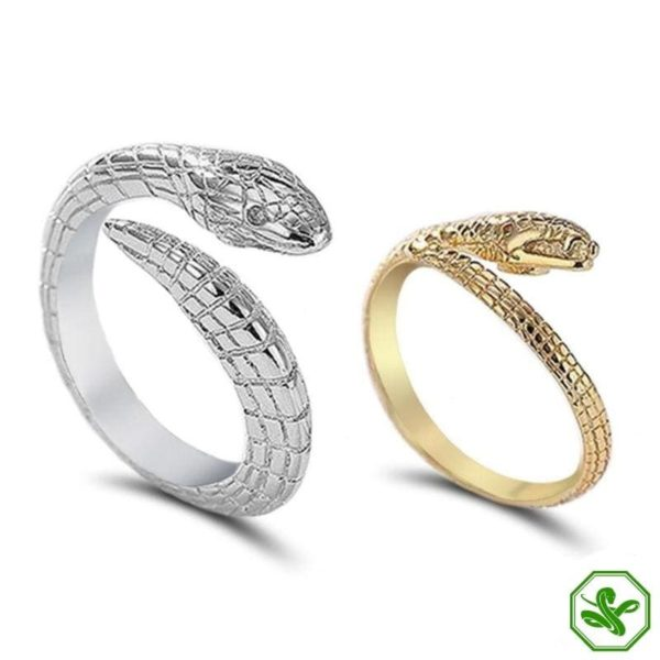 snake-silver-engagement-ring 7