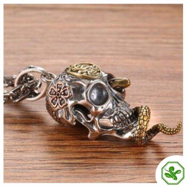 Snake Skull Necklace 3