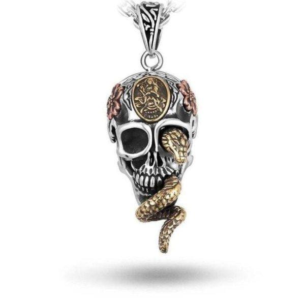 Snake Skull Necklace 1
