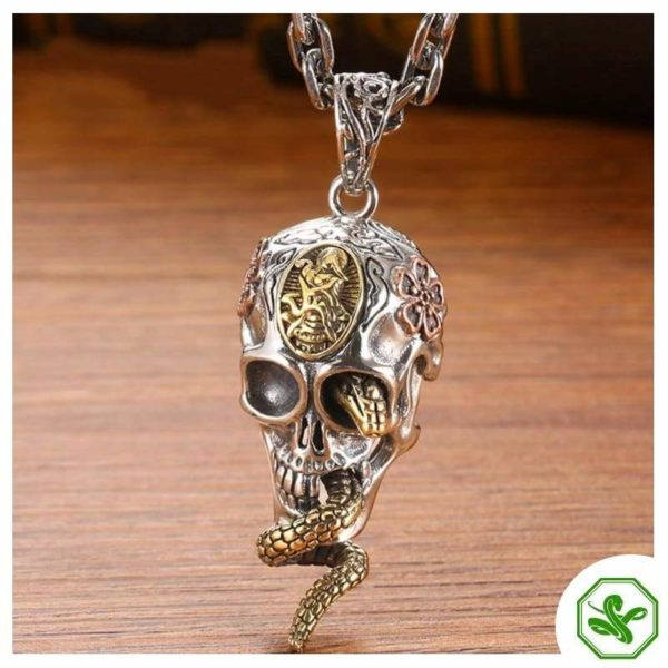 Snake Skull Necklace 2