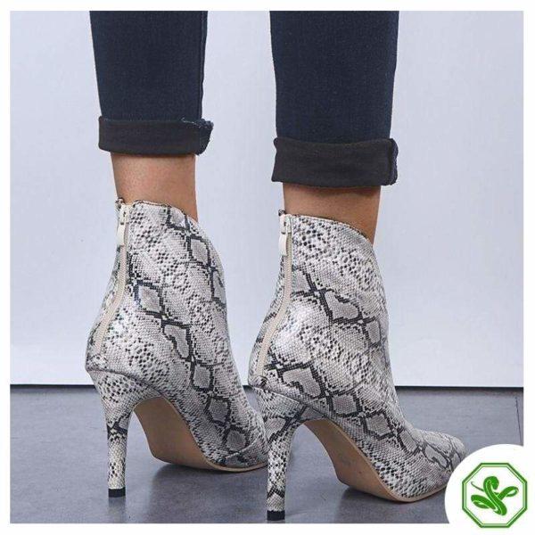 Snake Thigh High Boots 4