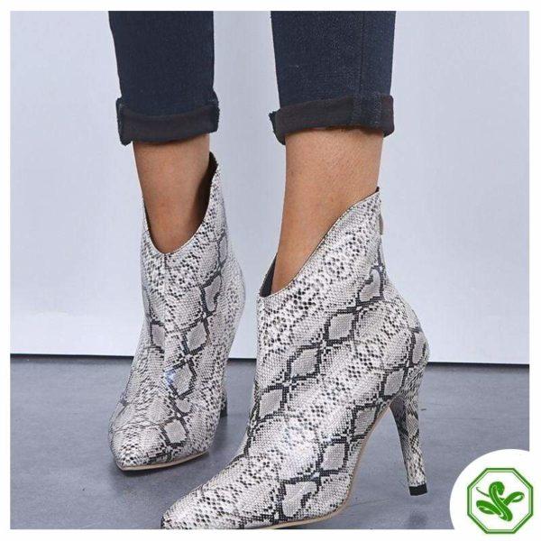 Snake Thigh High Boots 2