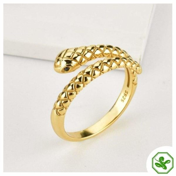 small women snake ring