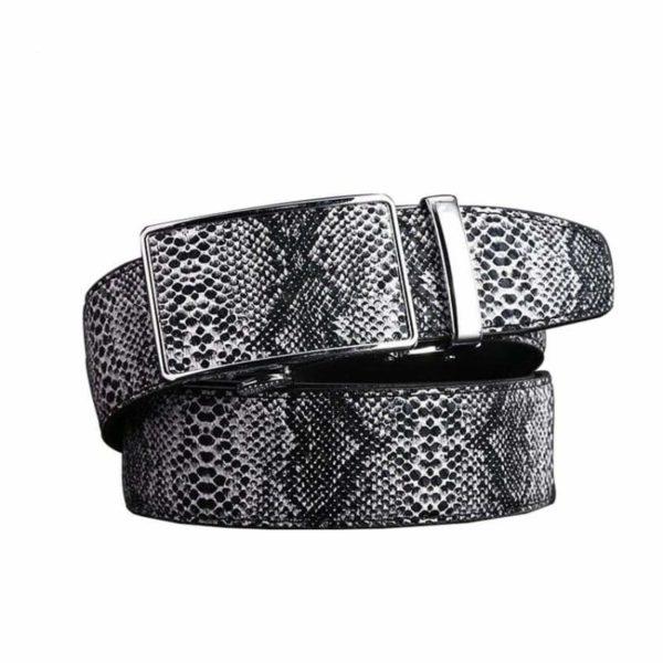 snake belt men's