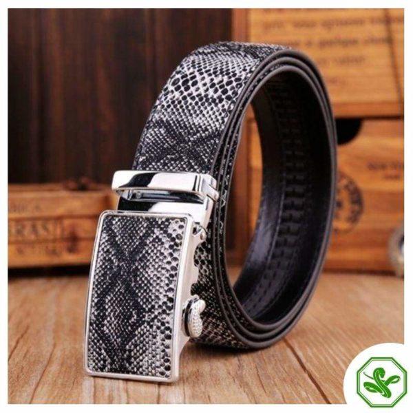 snake belt for men