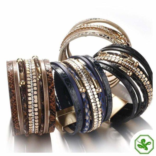 snakeskin bracelets