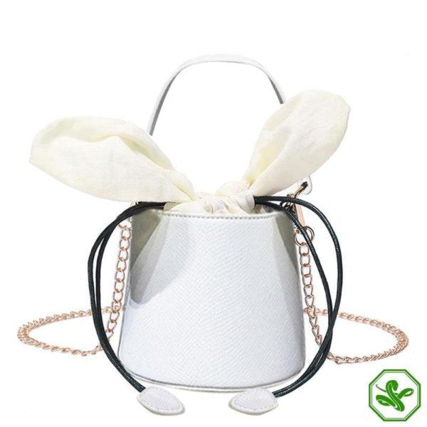 Snakeskin Bucket Bag 15