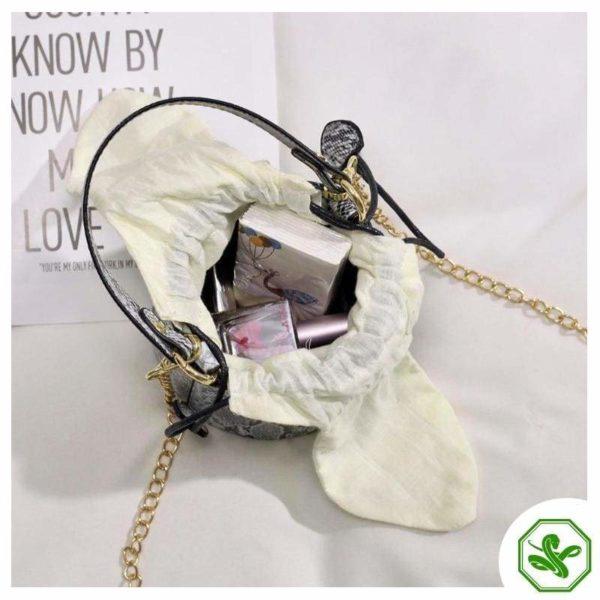Snakeskin Bucket Bag 9