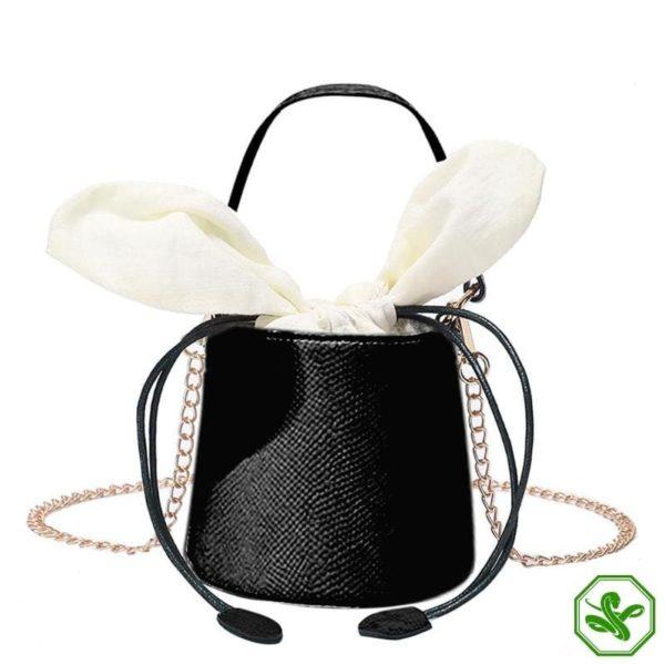 Snakeskin Bucket Bag 18