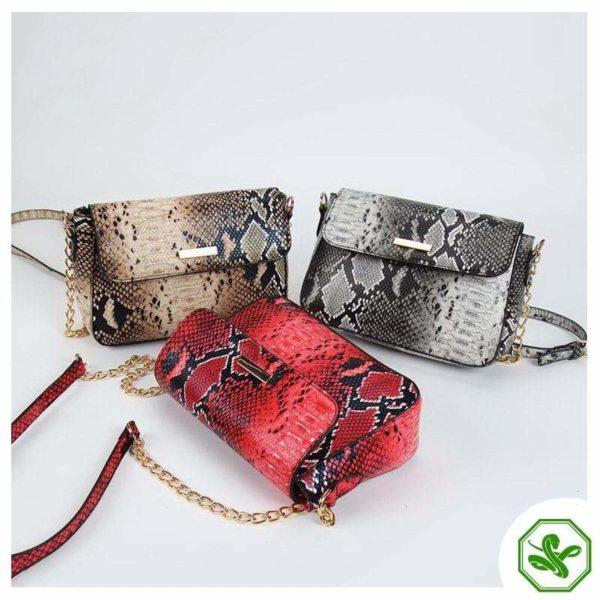 Snakeskin Crossbody Bags