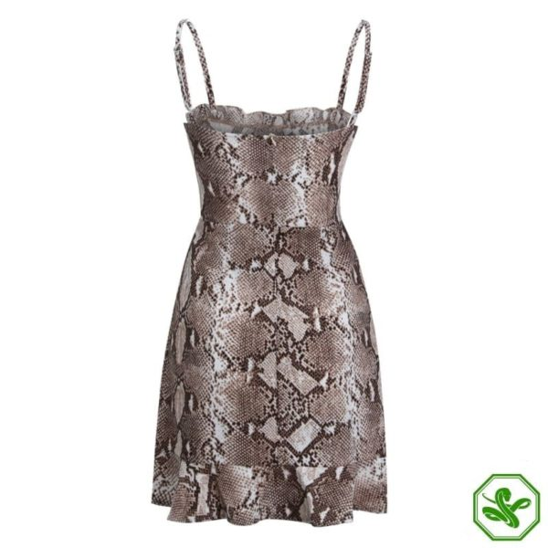 Snakeskin Dress Outfit 5