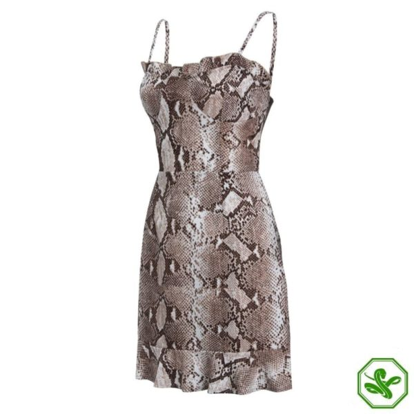 Snakeskin Dress Outfit 4