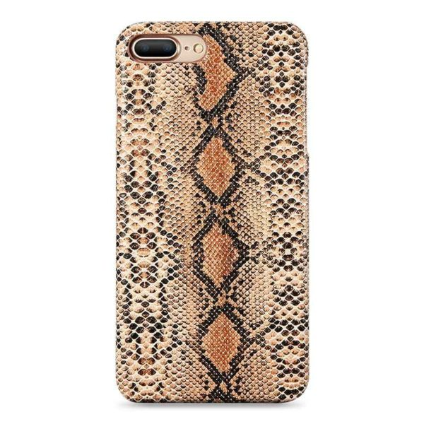 Snakeskin iPhone 11 Pro Max Case Brown