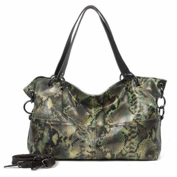 Snakeskin Leather Bag