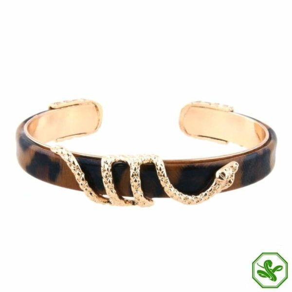 brown snake bracelet