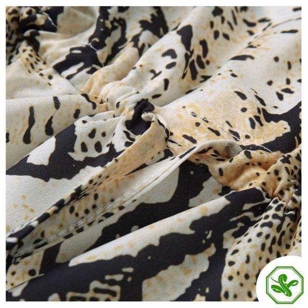 Snakeskin Sleeveless Dress 5