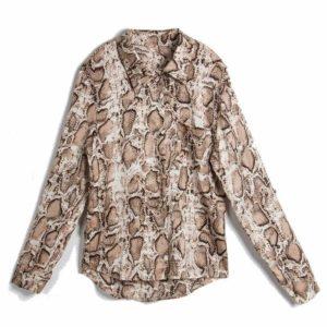 snakeskin shirt womens
