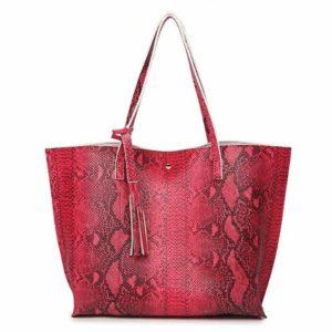 Snakeskin Tote Bag 1