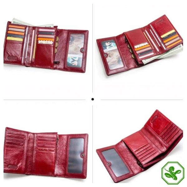 snakeskin wallet womens