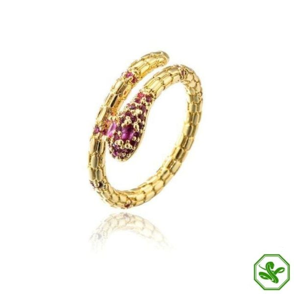 solid-gold-snake-ring 2