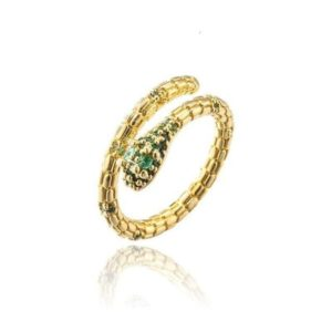solid-gold-snake-ring 1